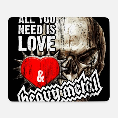 Heavy Metal Love and Heavy Metal - Mousepad