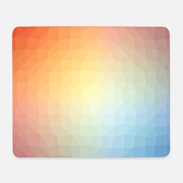 Low poly pattern - Mouse Pad (horizontal)