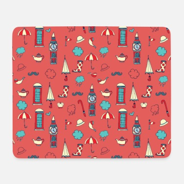 Great Britain England pattern - Mouse Pad