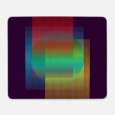 Mouse Kinetic art - Mouse Pad