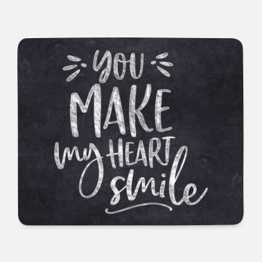 YOU MAKE MY HEART SMILE BY SUBGIRL - Mouse Pad