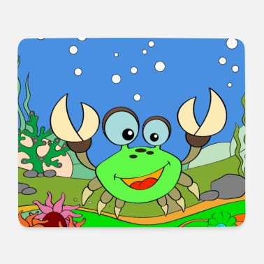 Laughing crab - Mouse Pad