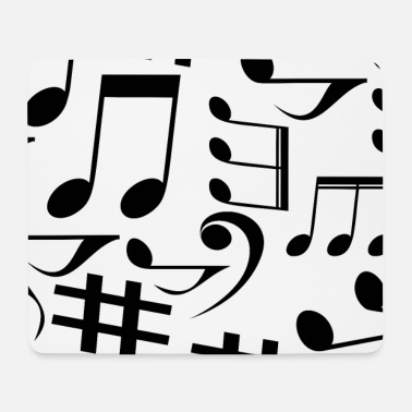 Note Clue Musical notes, music, notes - Mouse Pad