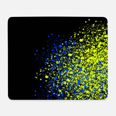 Glitter Neon glitter spray mask - Mouse Pad