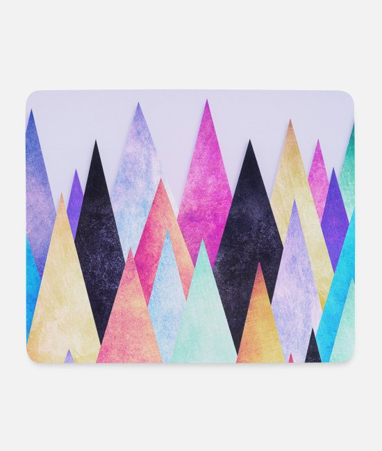 Mors Dag Musmattor  - Hipster triangles (geometry) Abstract Mountains - Musmatta vit