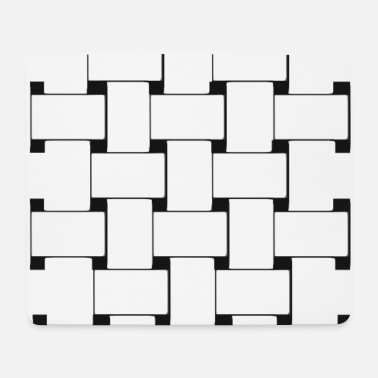 Grid Grid - network - Mouse Pad