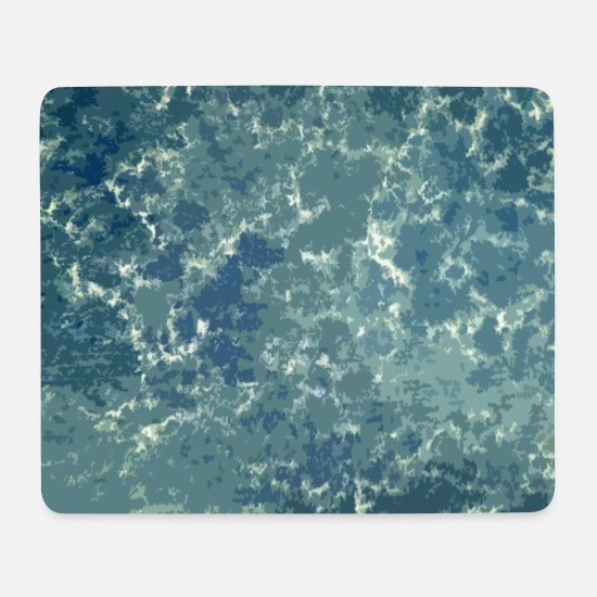 Office Mouse Pads - texture of the sea - Mouse Pad white