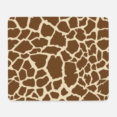 Giraffe allover - Mouse Pad