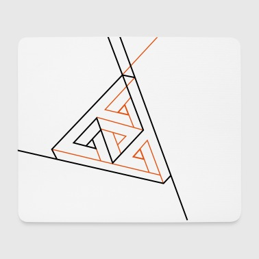 Penrose on the left - Mouse Pad (horizontal)