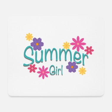 summer girl - Mouse Pad