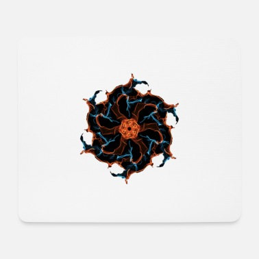 Element Combat of the elements / Combat elements - Mouse Pad