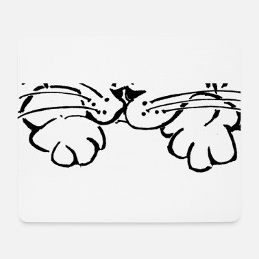 Paw Cat paw paw - Mouse Pad