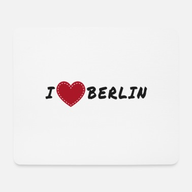 Berlino I love Berlin - I love Berlin, Berlino - Tappetino per mouse (orizzontale)