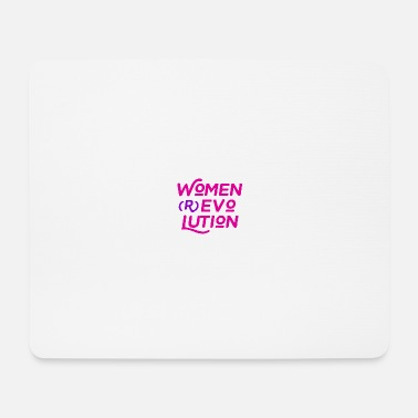 March WOMEN REVOLUTION - Mouse Pad