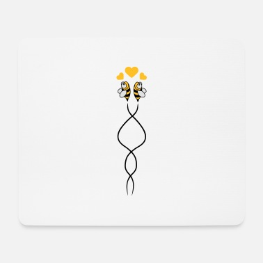 Bee Bees Love - Tapis de souris