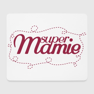 super mamie - Mouse Pad (horizontal)