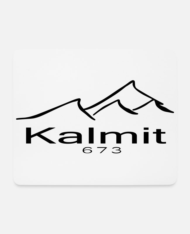 Mountains Mouse Pads - Kalmit summit mountain - Mouse Pad white