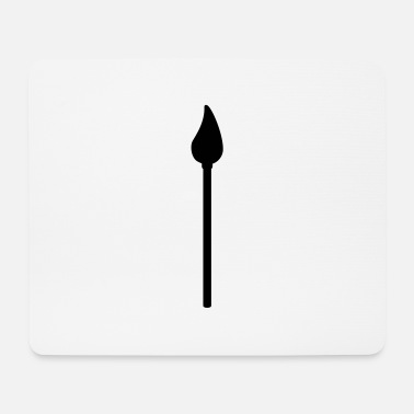 Drawing Painting Symbol paint brush symbol - Mouse Pad