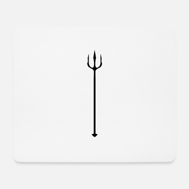 Shiva With Trident trident - Mouse Pad