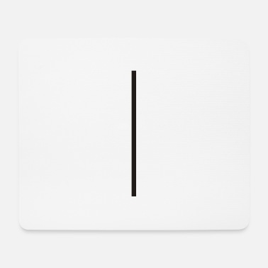 Vertical Vertical Line - Mouse Pad