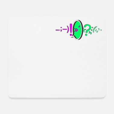 Punctuation Marks Punctuation / punctuation marks / colored - Mouse Pad