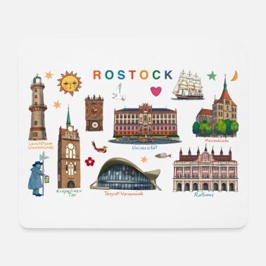 Rostock Rostock - Mouse Pad