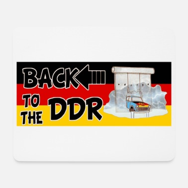 Gdr Back to the GDR - Mouse Pad