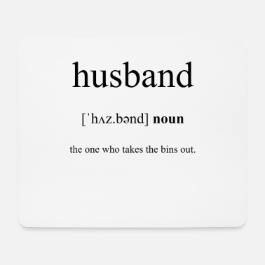 Husband Husband (husband) - Mouse Pad