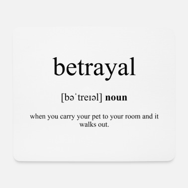 Betrayal (Treachery) Definition Dictionary - Musmatta