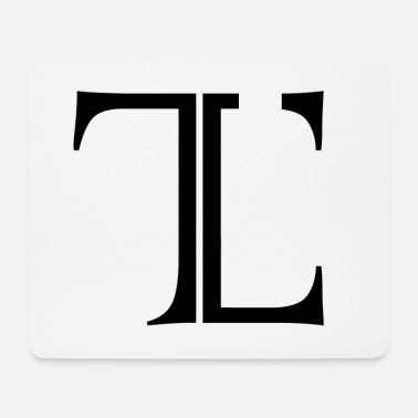 Tlc Timeless Logo Originale - Tappetino per mouse (orizzontale)
