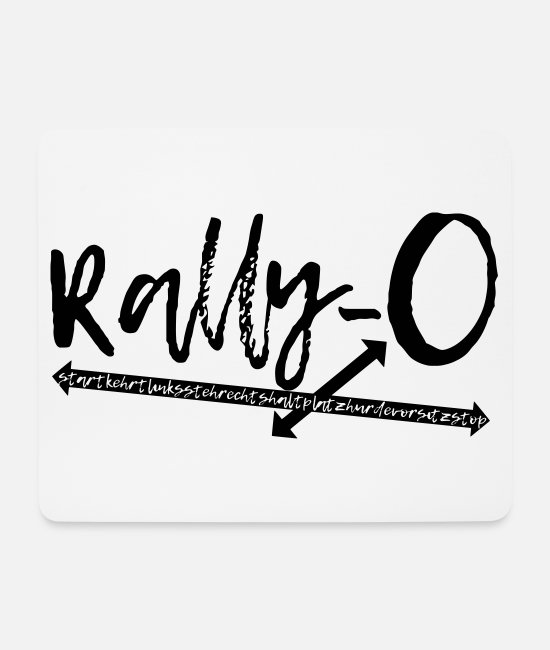 Sweet Dog Mouse Pads - Rally Obedience Rally-O - dog sport gift idea - Mouse Pad white