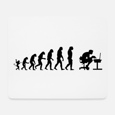Computer Computer Evolution - Mouse Pad