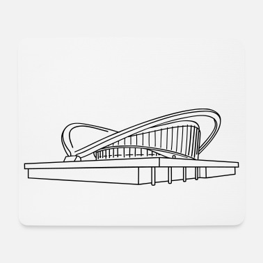 Congress House of the World's Cultures Berlin - Mouse Pad