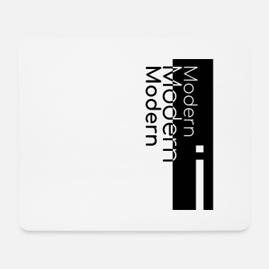 Modern Design (black) - Mouse Pad (horizontal)