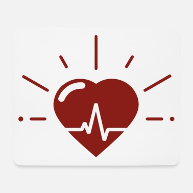 Heartbeat Heartbeat for heartbeat - Mouse Pad