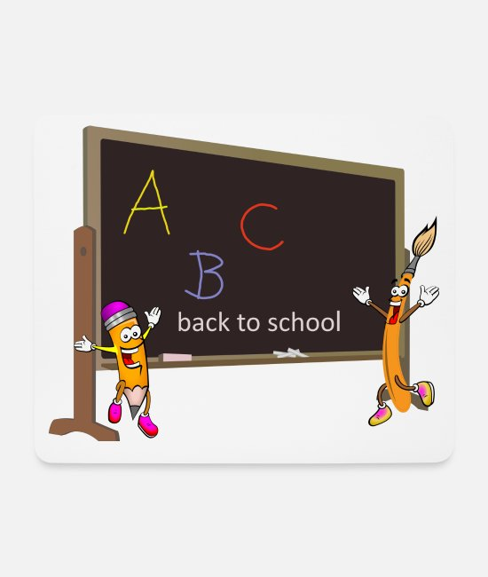 Birthday Mouse Pads - back to school, back to school, schooling - Mouse Pad white