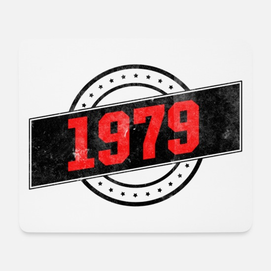 Birthday Mouse Pads - 1979 year of birth - Mouse Pad white