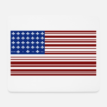 Us US Flag - Mousepad (bredformat)