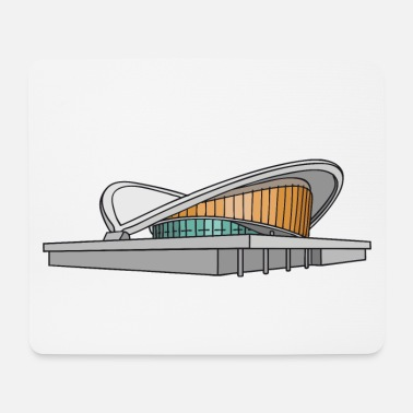Congress Congress Hall in Berlin c - Mouse Pad