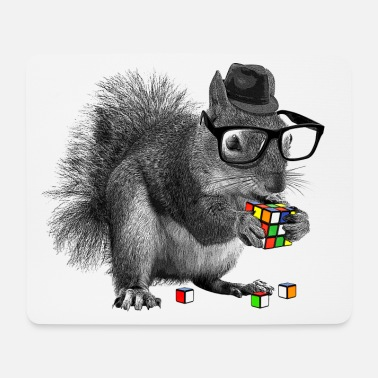 Rubik's Squirrel - Tappetino mouse