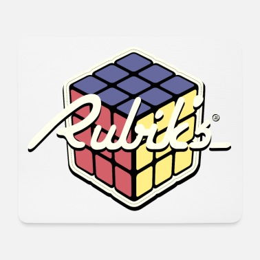 Rubik's Cube Retro Style - Tappetino mouse