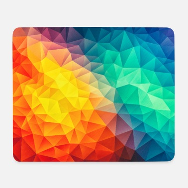 Abstract Colorful triangles geometry - Phone Case - Mouse Pad (horizontal)