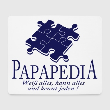 papapedia - Mousepad (Querformat)