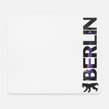 Berlinale Berlin lettering - gift - Mouse Pad