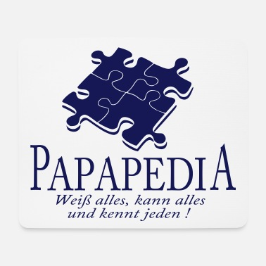 Vatertag papapedia - Mousepad