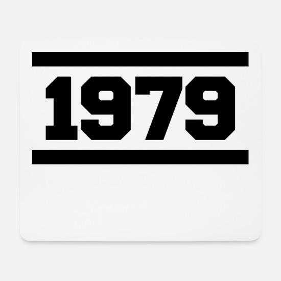 Birthday Mouse Pads - 1979 - Mouse Pad white