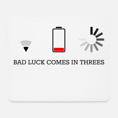 Video Buffer triple bad luck - Mouse Pad