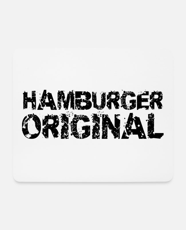 Hamburger Mouse Pads - Hamburger original - Mouse Pad white