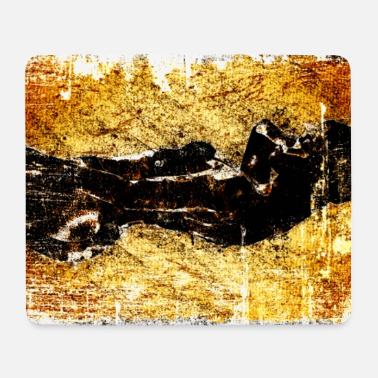 New Mouse Pads - Beauty Decay - Mouse Pad white