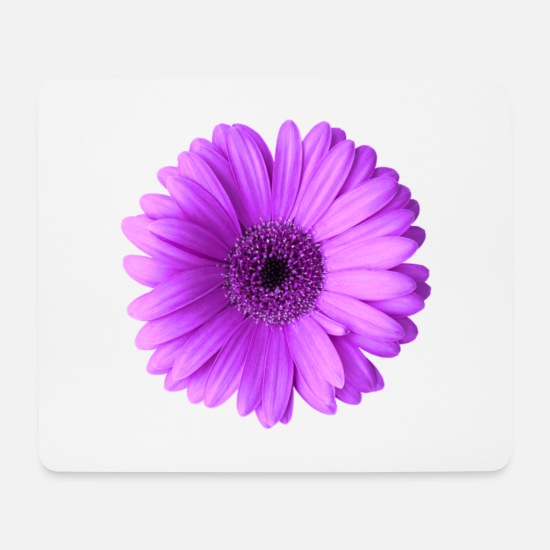 Flower Mouse Pads - Flower - Mouse Pad white